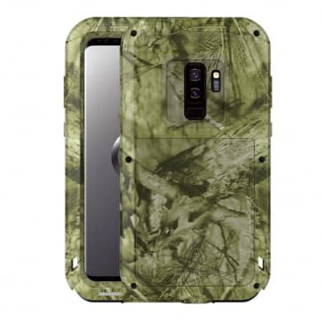Camo Metal Military Case for Galaxy S9