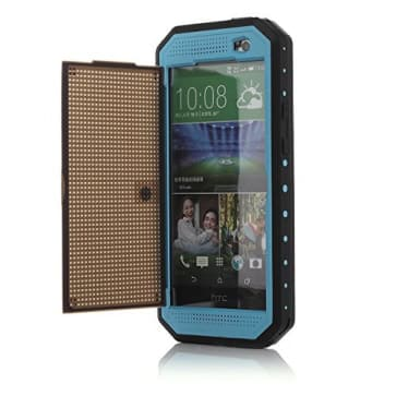 HTC One M8 Waterproof Shockproof Case with Stand