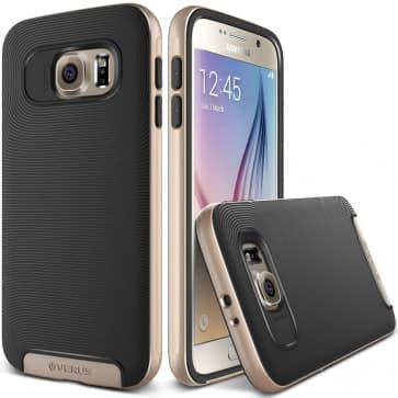 Verus Gold Galaxy S6 Case Crucial Bumper Series