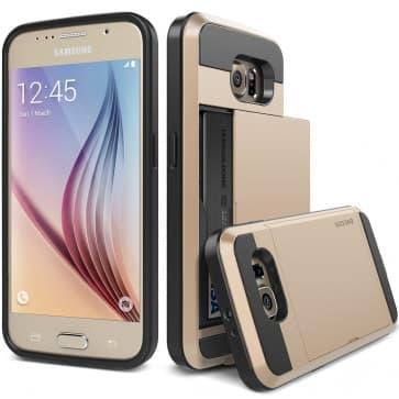 Verus Gold Galaxy S6 Case Damda Slide Series