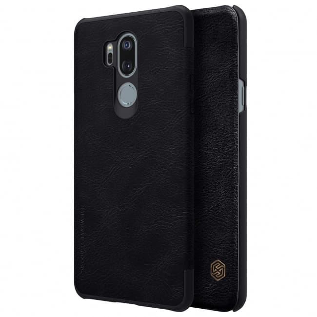 LG G7 Nillkin Leather Qin Case