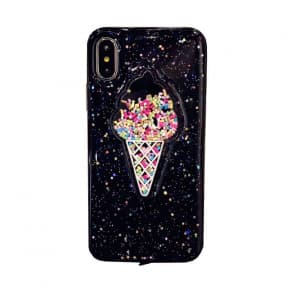 iPhone X Ice Cream Sprinkles Case