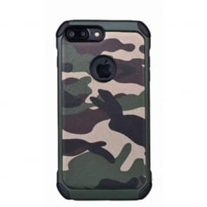 Camouflage Tough Shockproof iPhone 7 Plus Case