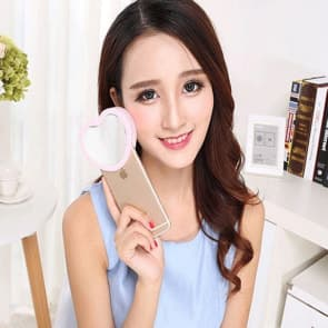 LED Selfie Beauty Heart Flash for iPhone 6 6s Plus