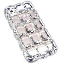Sharp N' Chic Frozen Ice Block Cube 3D Ruby Gem iPhone 5 5s Case