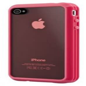 SwitchEasy Trim Hybrid Pink Case for Apple iPhone 4