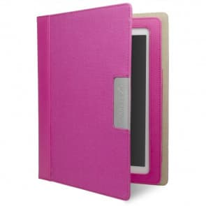Cygnett Alumni Canvas Case for the new iPad & iPad 2 (Pink)