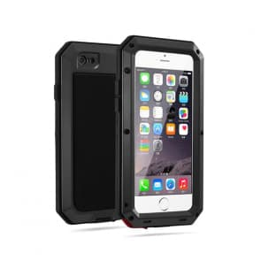 Shockproof Gorilla Glass Metal Case for iPhone 7 Plus