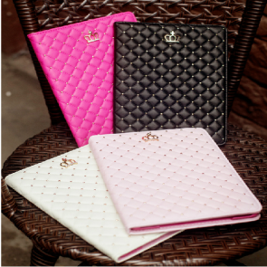 High Fashion Princess Crown Case for iPad Air