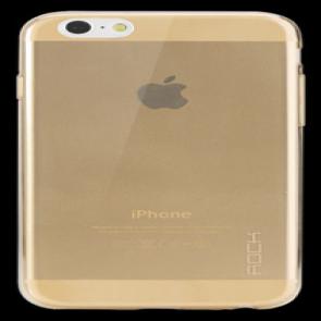 Rock iPhone 6 Plus 5.5 inch TPU Case Clear Gold