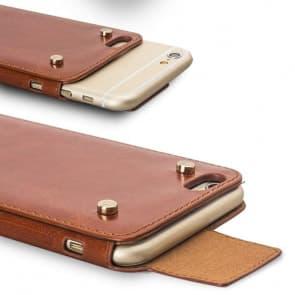 Elegant Leather Buckle Case for iPhone 6 Plus