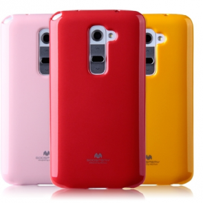 Vivid Color TPU Slim Fit Case for LG G2