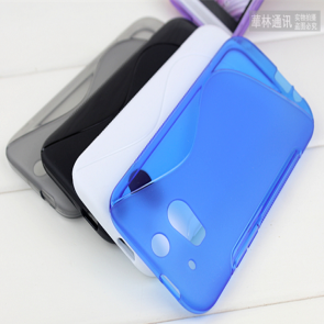 TPU Case for HTC One M8 Wave Grip Color