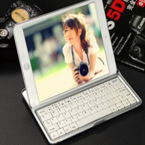 Wireless Bluetooth Keyboard and Stand for iPad Mini and iPad Mini 2 Retina